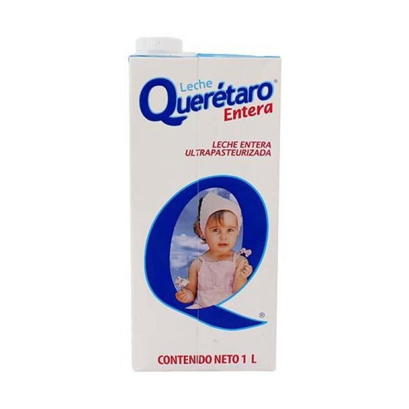 """Leche entera """"Querétaro"""" de 1 Lt."""