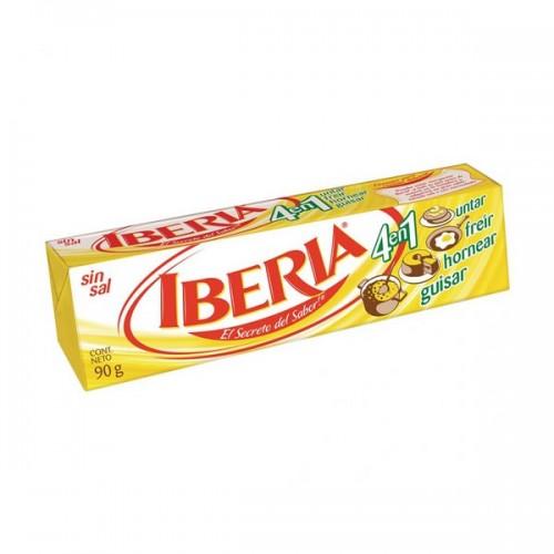 """Mantequilla """"Iberia"""" de 90 gr."""